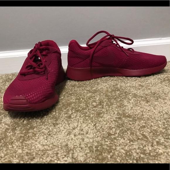 Nike Shoes | Nike Tanjun Burgundy